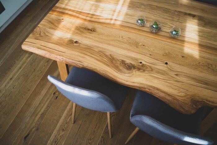 eesti tammepuidust laud