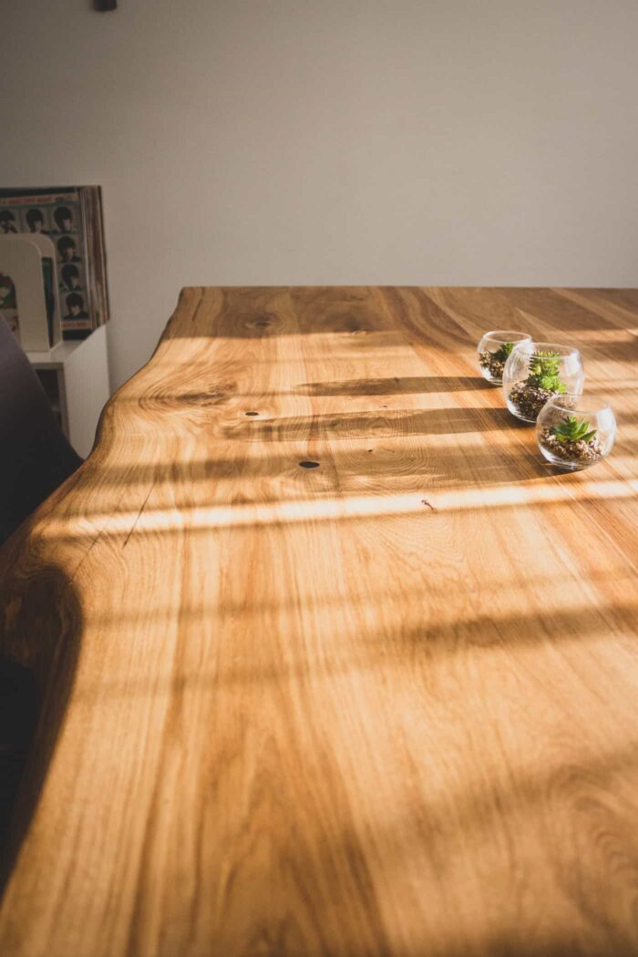 tammepuidust lauad