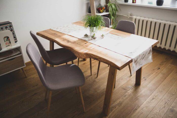 tammepuidust laud linaga
