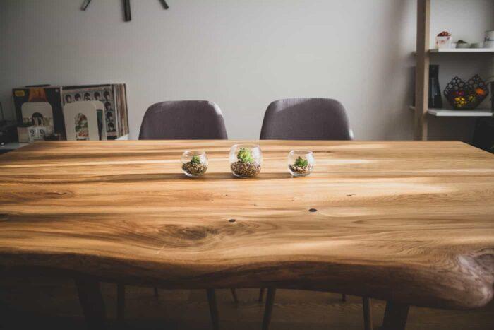 tammepuidust laudade tegemine