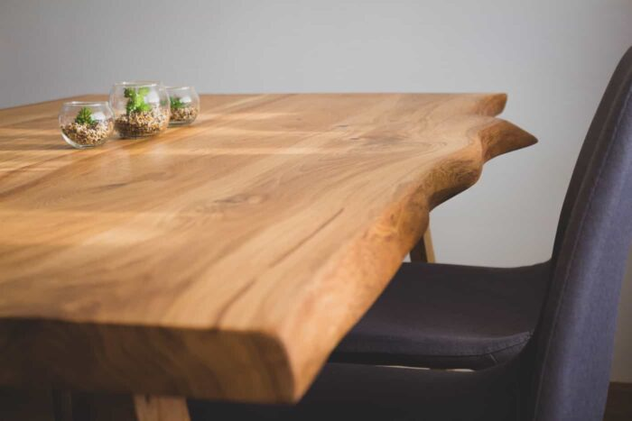 wooden table oak